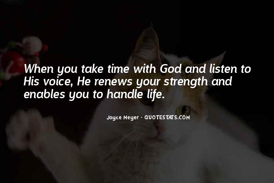 God Strength Quotes #59575