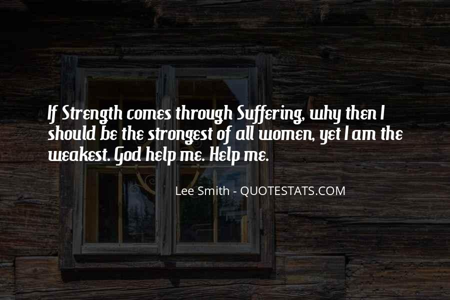God Strength Quotes #61211