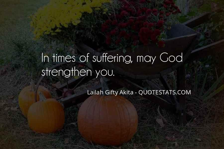 God Strength Quotes #82011