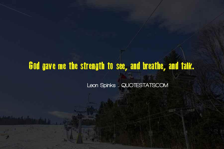 God Strength Quotes #82330