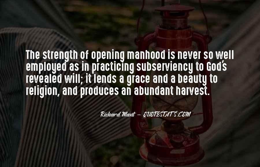 God Strength Quotes #95305