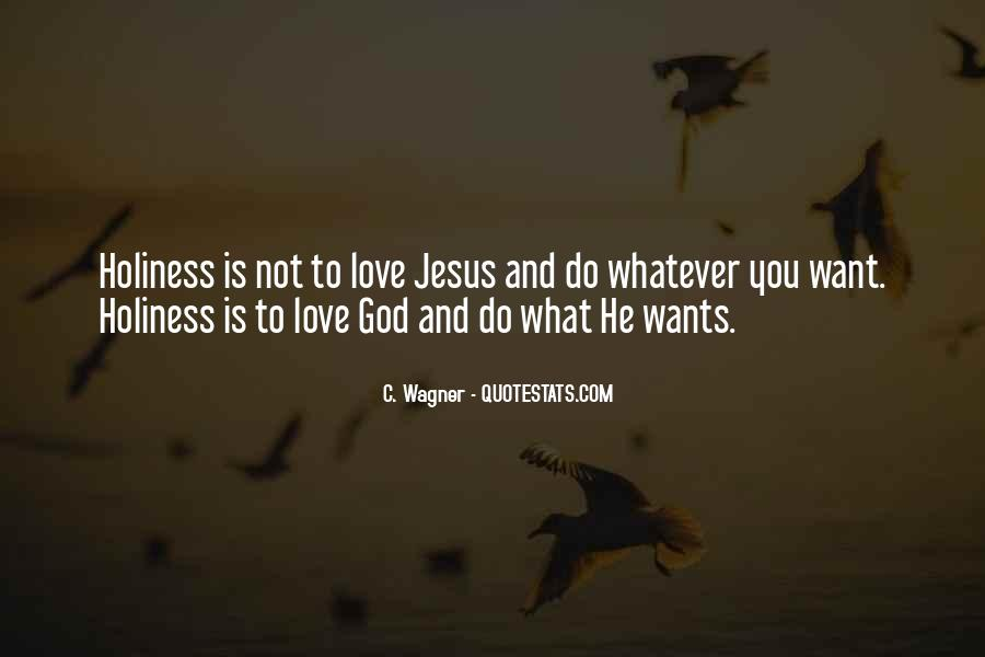 God Wants Quotes #105464