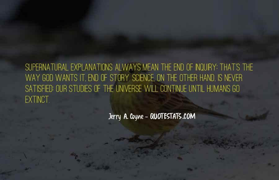 God Wants Quotes #109171