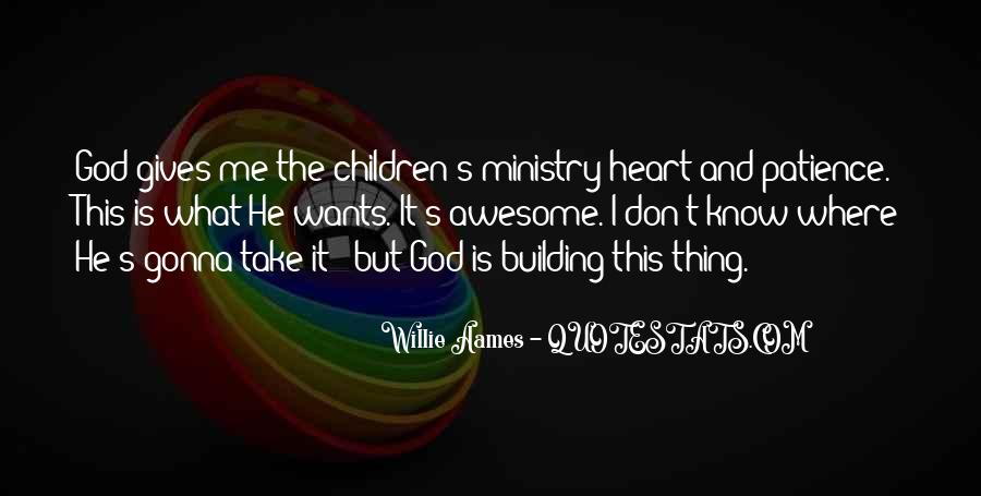 God Wants Quotes #116366