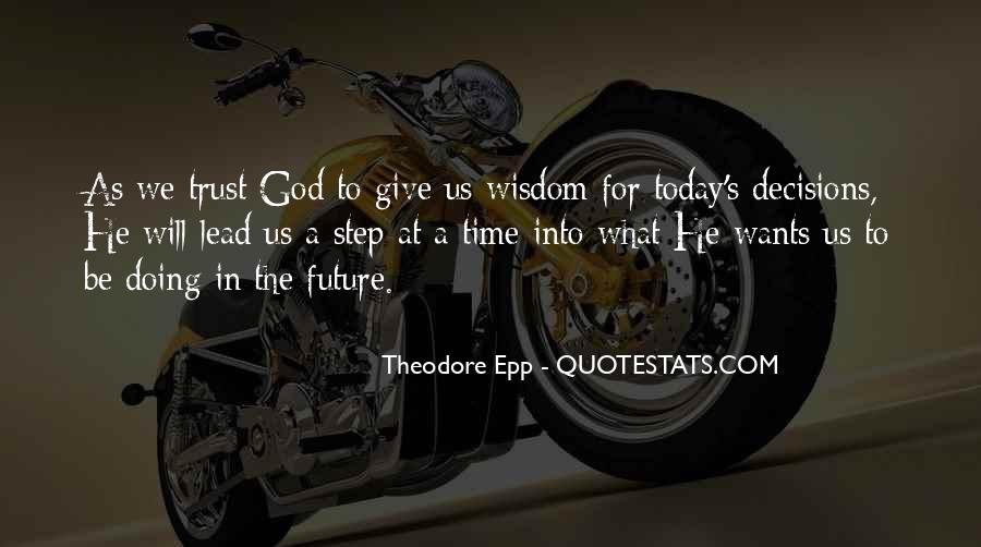 God Wants Quotes #118446