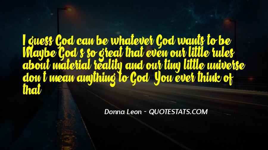 God Wants Quotes #120667