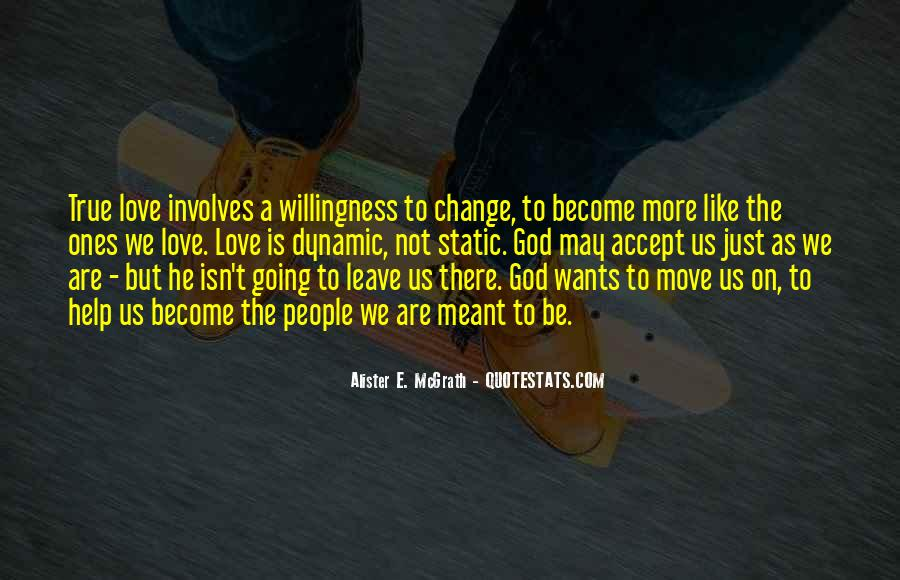 God Wants Quotes #128493