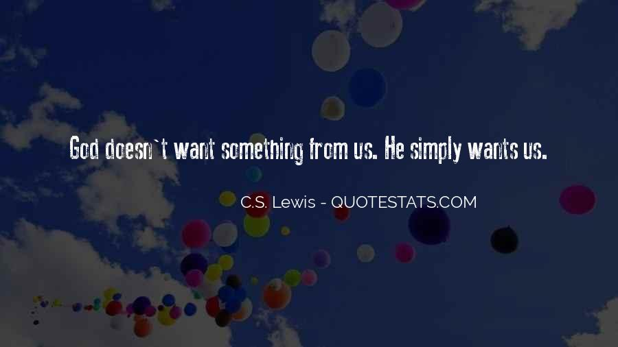 God Wants Quotes #153142