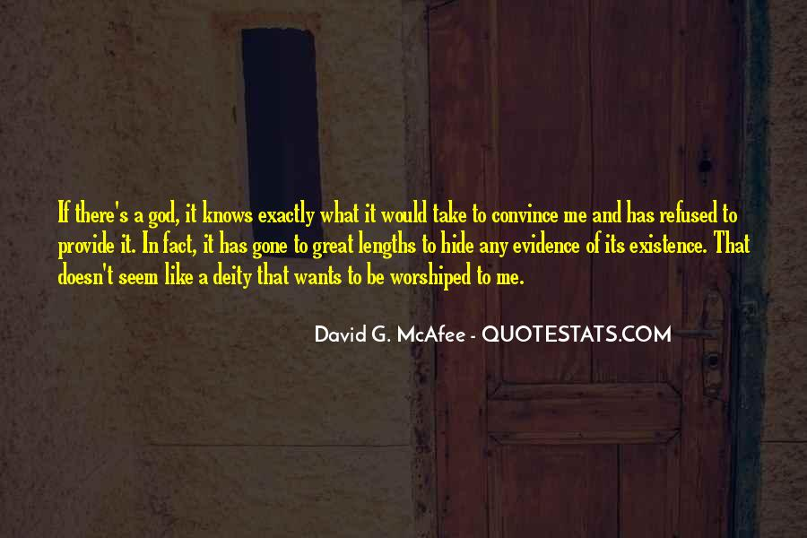 God Wants Quotes #26741