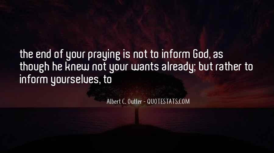 God Wants Quotes #44050