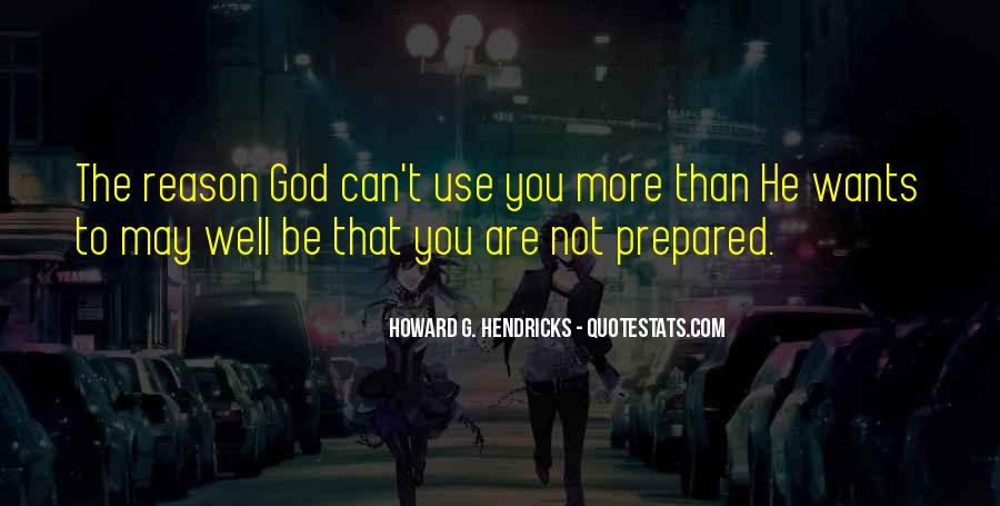 God Wants Quotes #61655