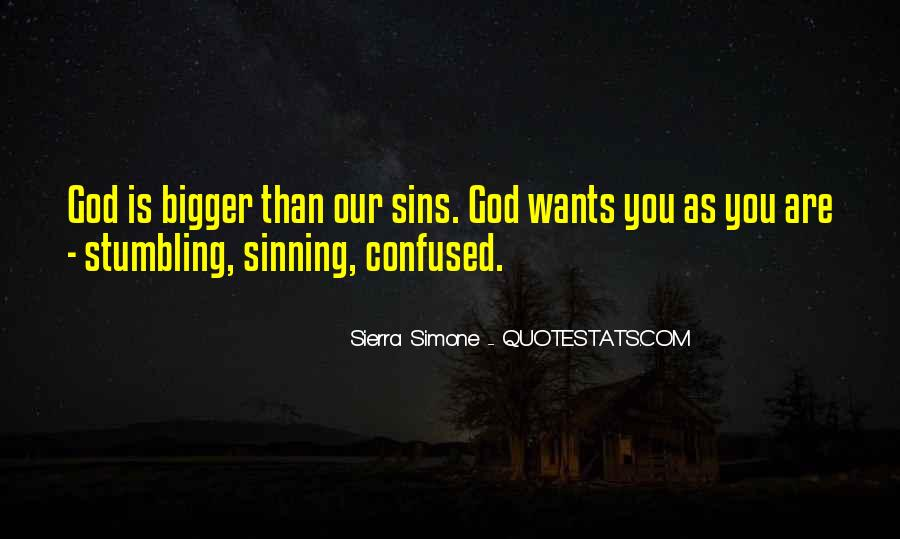 God Wants Quotes #6187