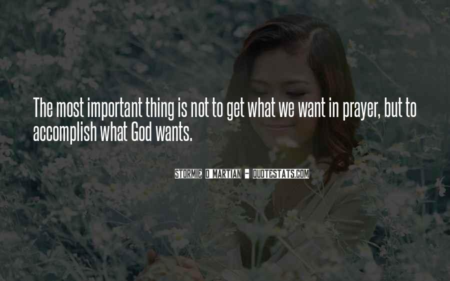 God Wants Quotes #66620