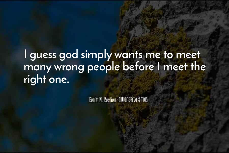 God Wants Quotes #74830