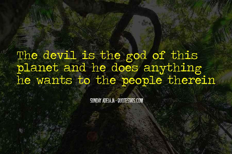 God Wants Quotes #82189