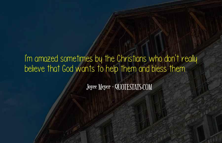 God Wants Quotes #87153