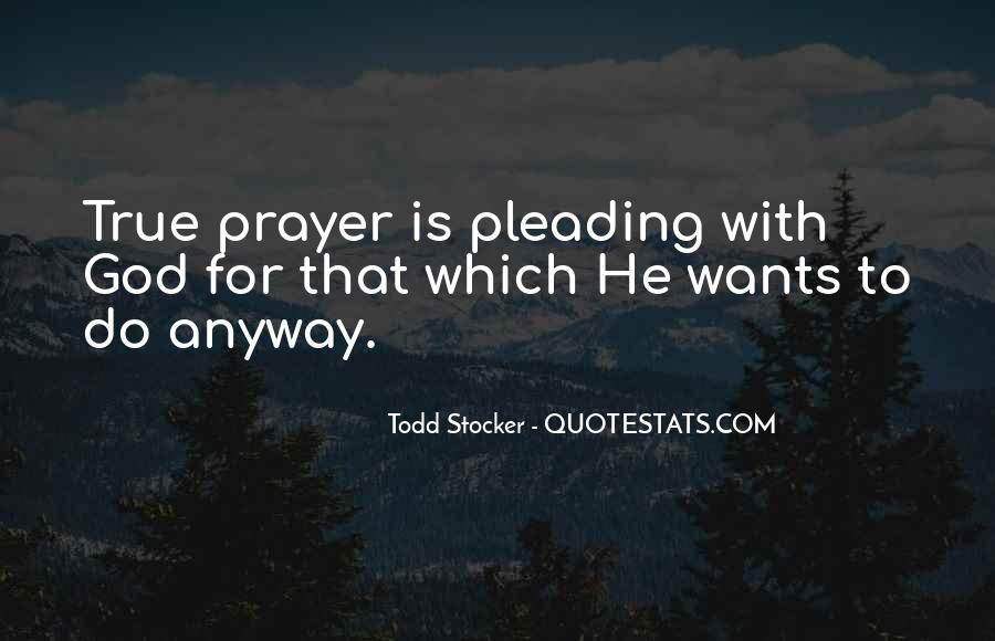 God Wants Quotes #88674