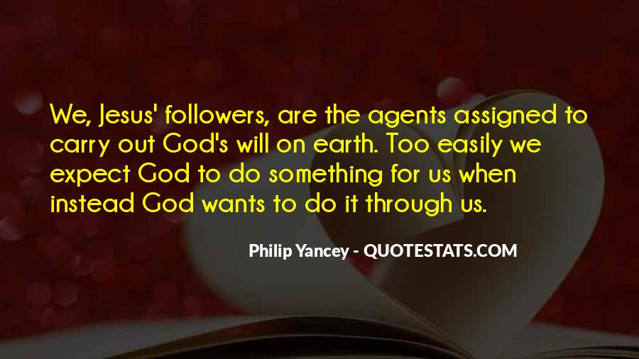 God Wants Quotes #92997