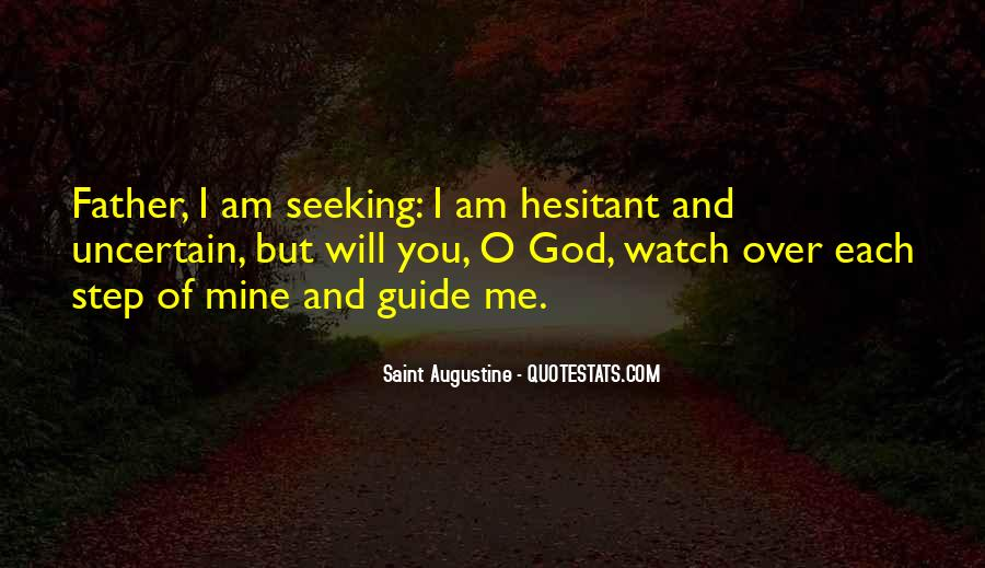 God Watch Over Me Quotes #205965