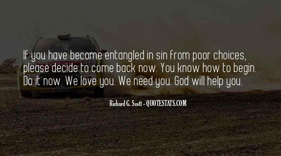 God We Need Your Help Quotes #145090