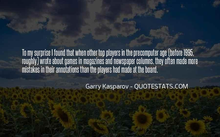 Quotes About Garry #167697