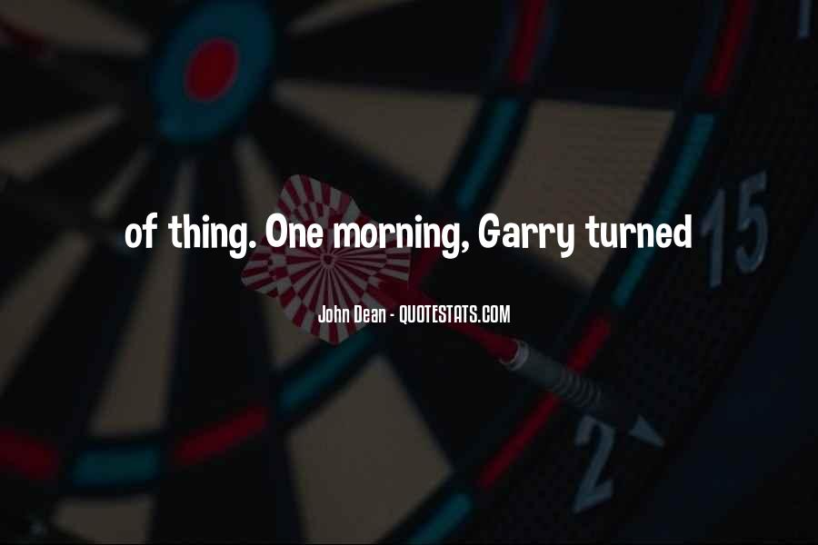 Quotes About Garry #46361