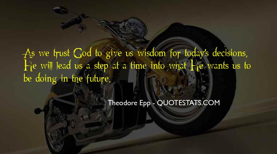 God Will Lead Us Quotes #118446