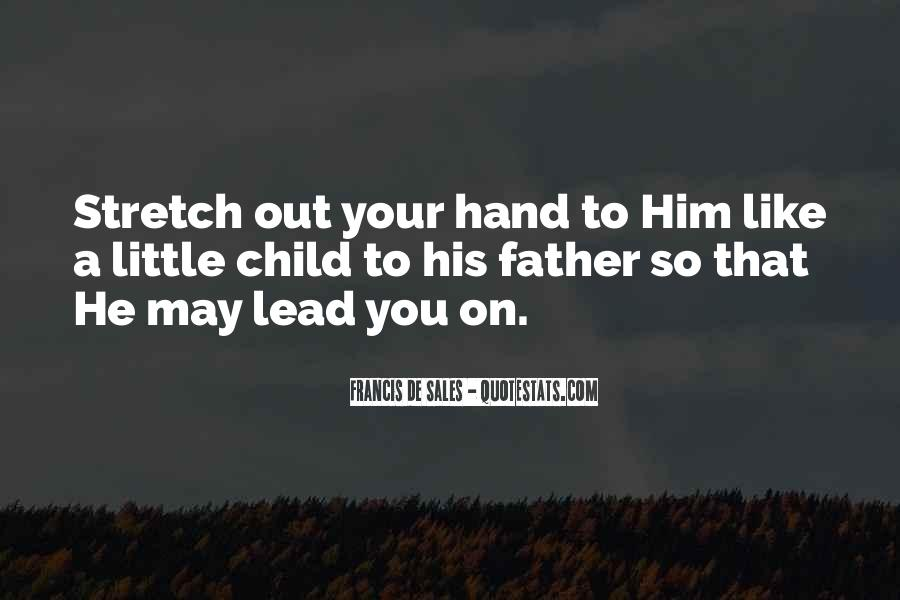 God Will Lead Us Quotes #12523