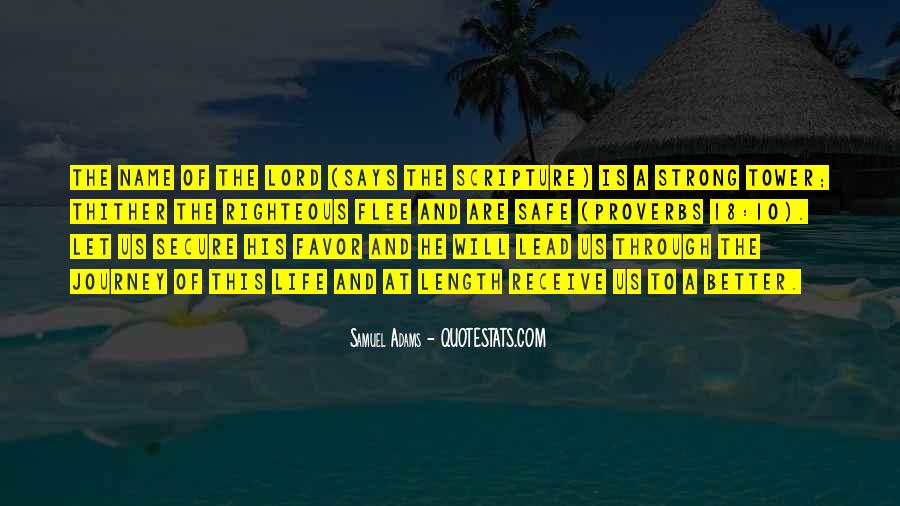 God Will Lead Us Quotes #1528114