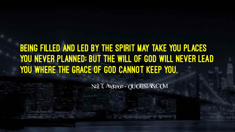 God Will Lead Us Quotes #197908