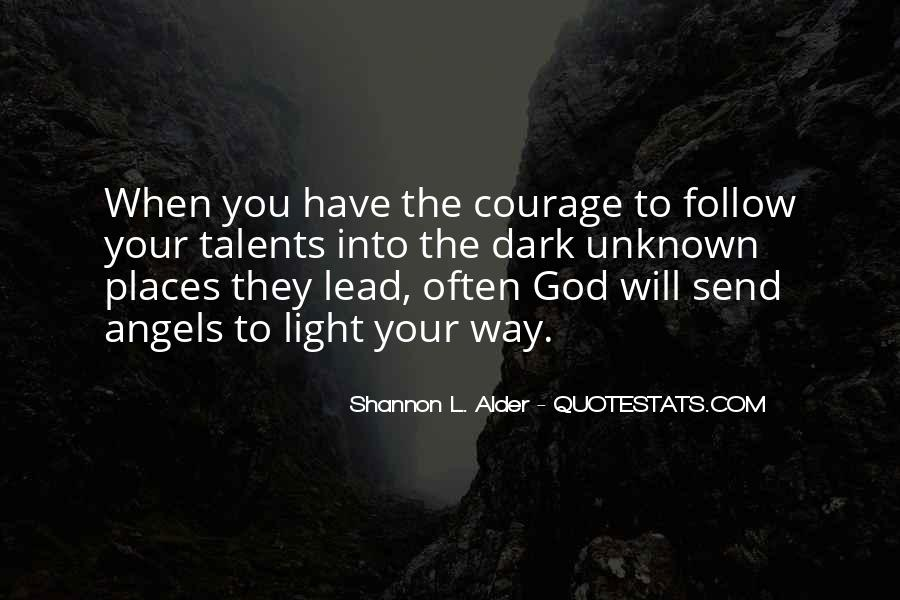 God Will Lead Us Quotes #24563