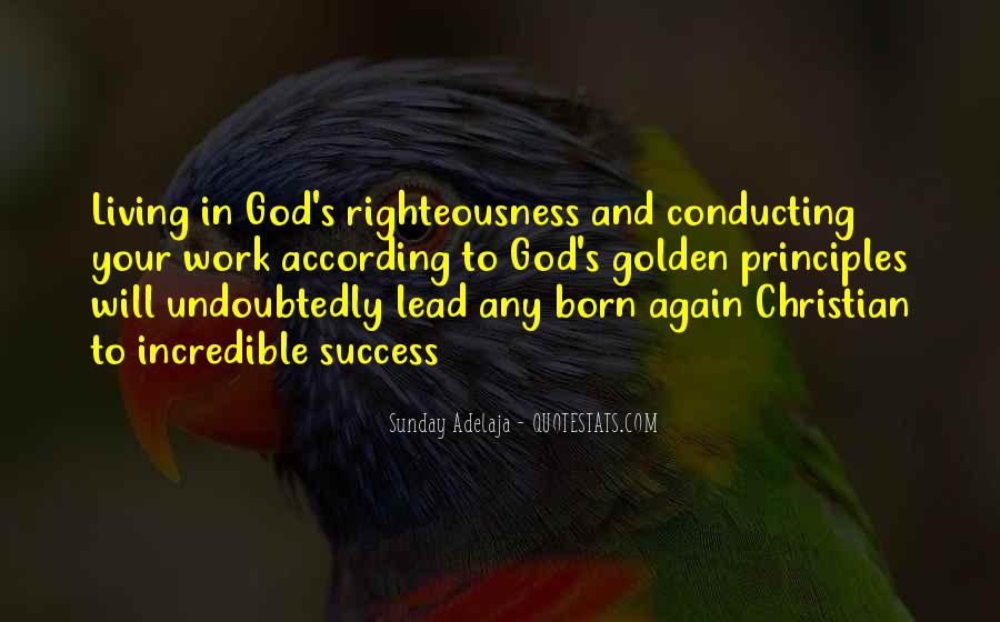God Will Lead Us Quotes #260642
