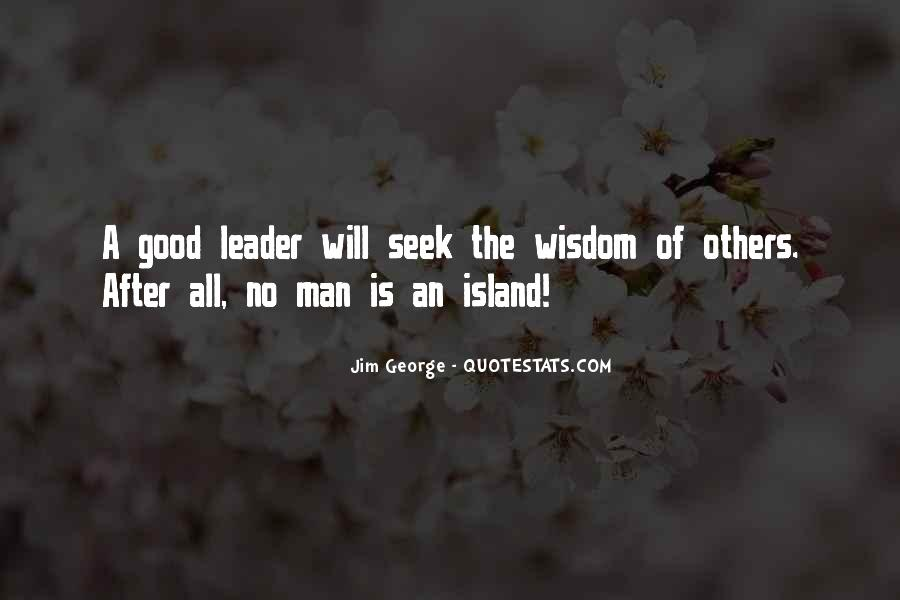 God Will Lead Us Quotes #308489