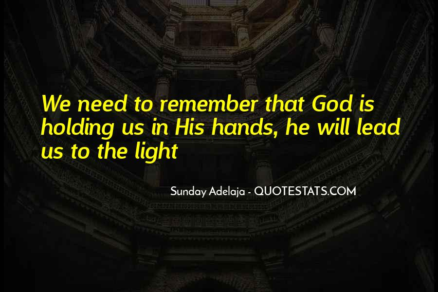 God Will Lead Us Quotes #978618