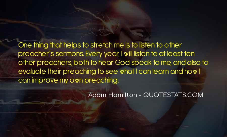God Will Listen Quotes #1032882