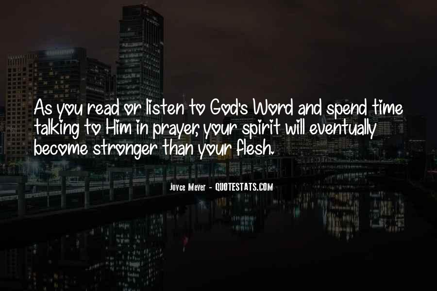 God Will Listen Quotes #1269181