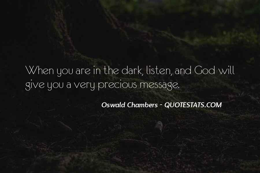 God Will Listen Quotes #514041