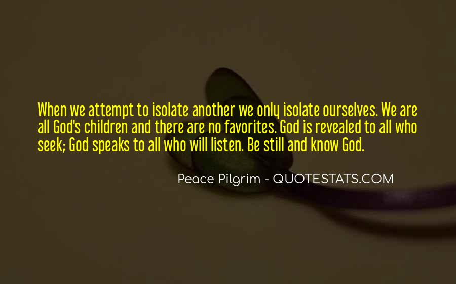 God Will Listen Quotes #738768
