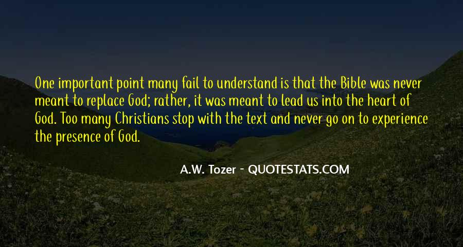 God Will Never Fail Us Quotes #1053944
