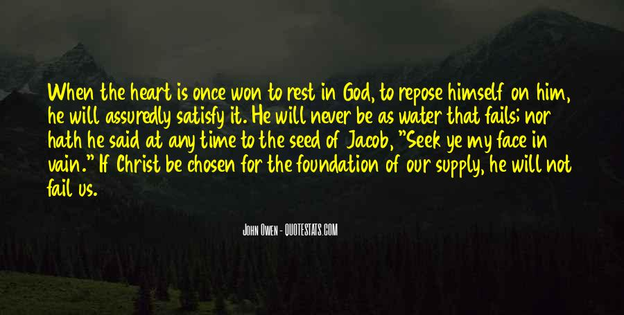 God Will Never Fail Us Quotes #276908