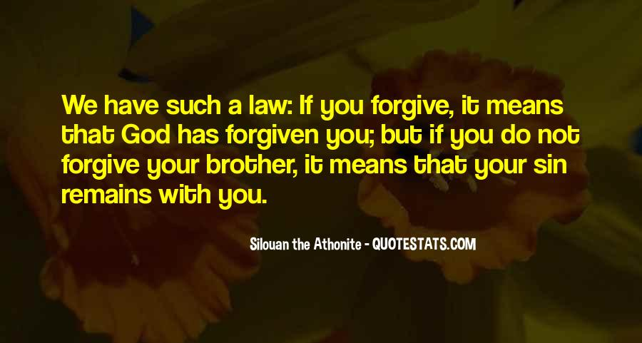 God Will Never Forgive You Quotes #34823