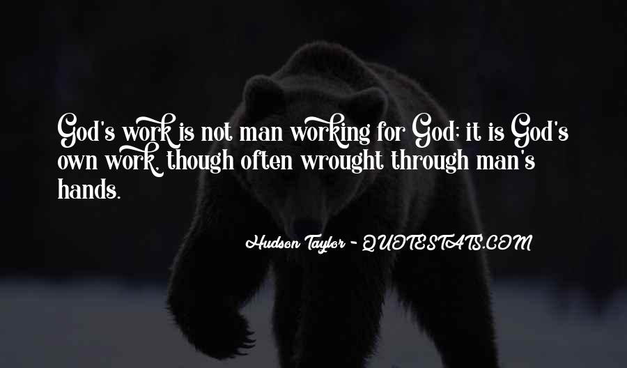 God Working Through Others Quotes #168929