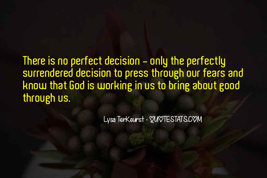 God Working Through Others Quotes #272288