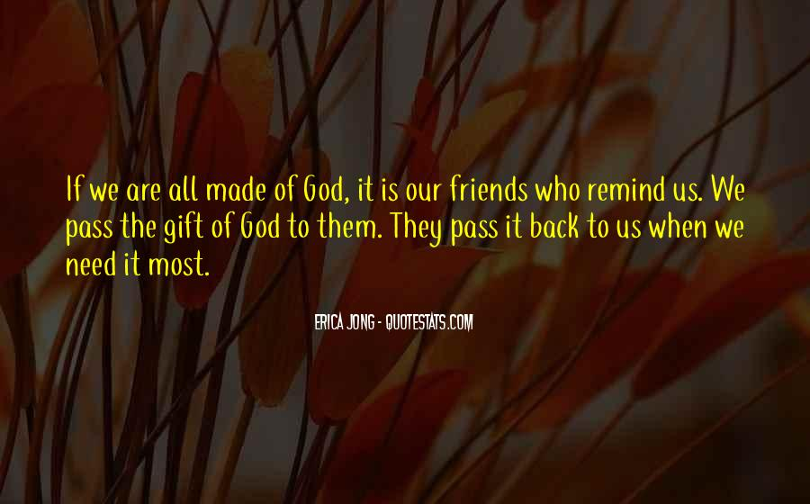 God's Gift Of Friendship Quotes #705225