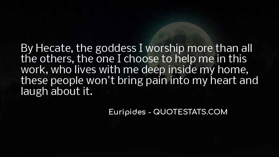 Goddess Hecate Quotes #1794974