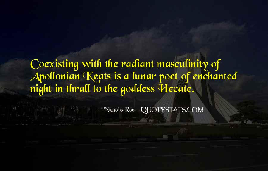 Goddess Hecate Quotes #286577