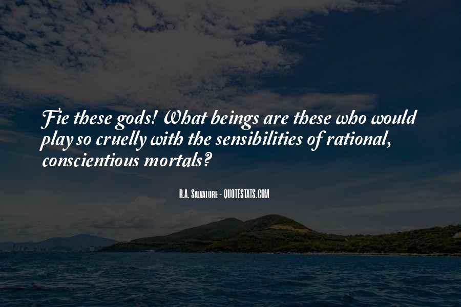 Gods And Mortals Quotes #1755559