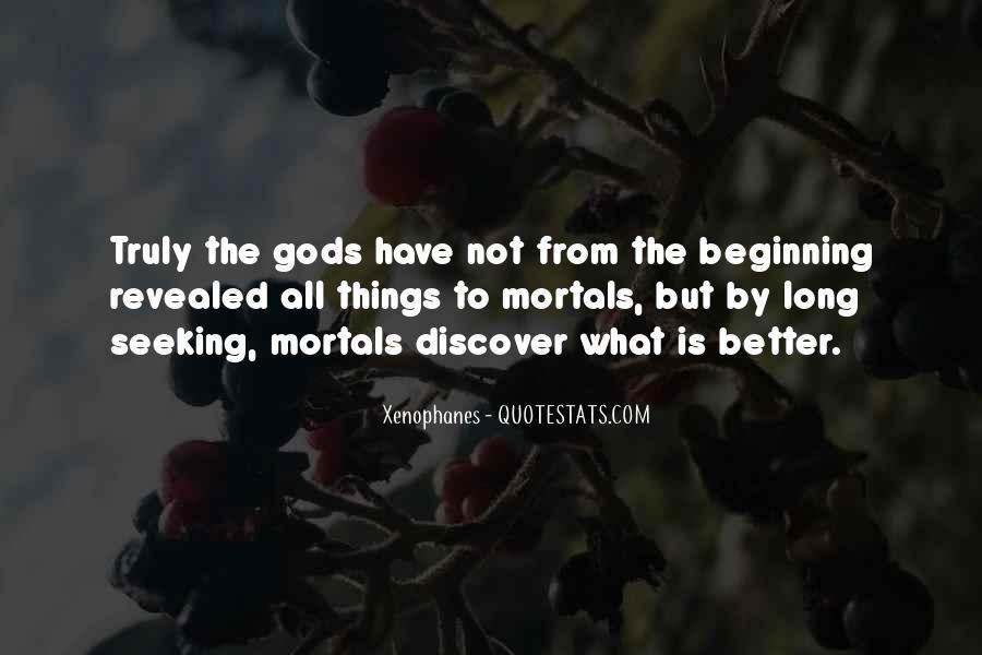 Gods And Mortals Quotes #82167