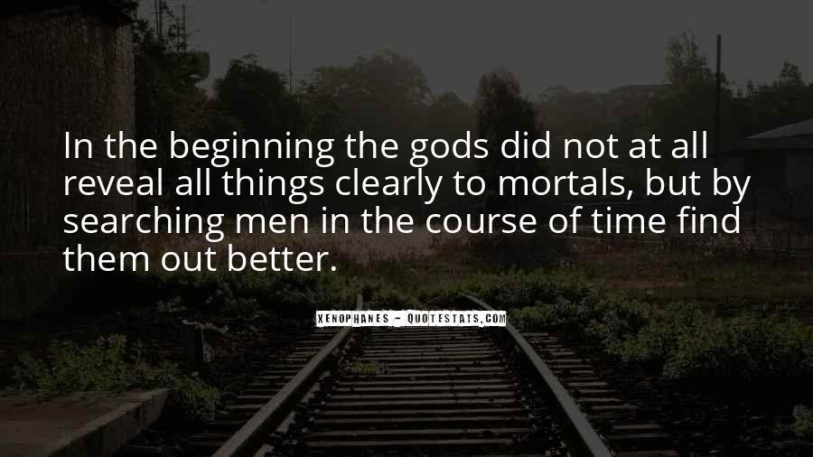 Gods And Mortals Quotes #867505