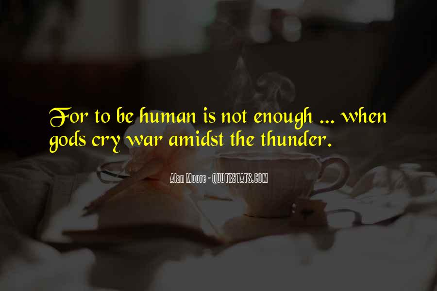 Gods At War Quotes #141645